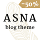 Asna | Personal Blog - ThemeForest Item for Sale
