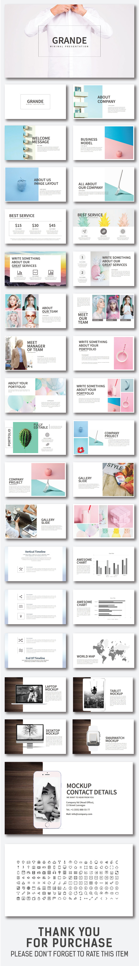 GraphicRiver Grande Powerpoint Template 20658088