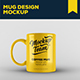 Mug Mock-up Template