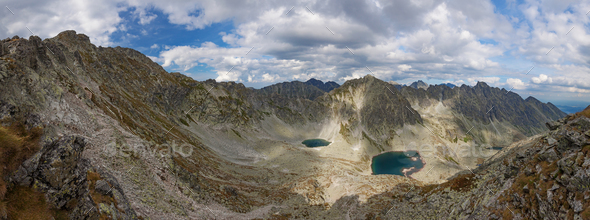 Photo of Vysne Wahlenbergovo pleso lake in High Tatra Mountains, Slovakia, Europe - Stock Photo - Images