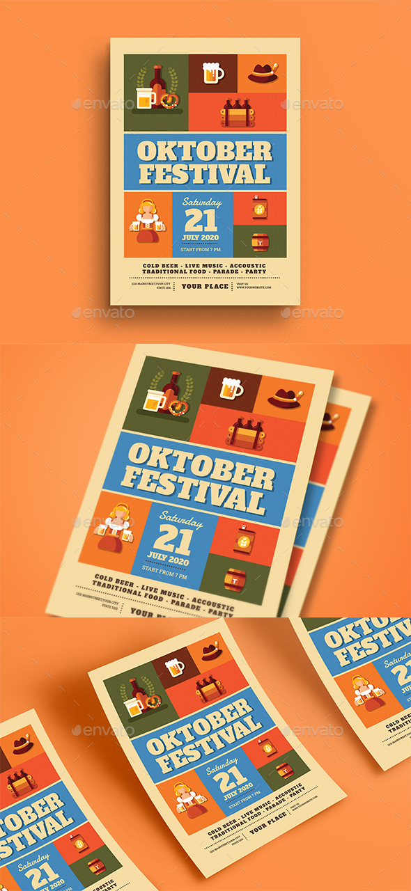 October Festival Flyer - Events Flyers