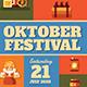 October Festival Flyer - GraphicRiver Item for Sale