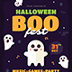 Halloween Boo Fest Flyer