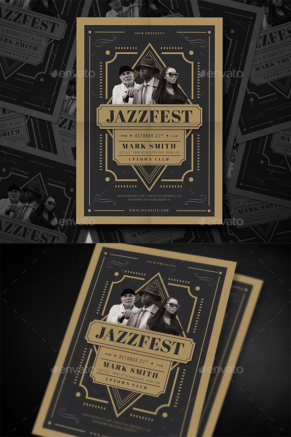 Jazz Festival Flyer - Events Flyers