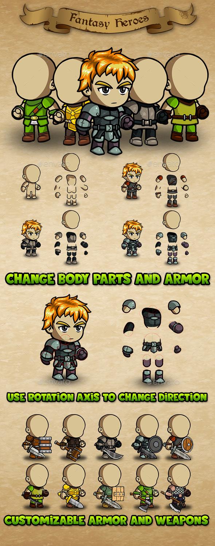 GraphicRiver Fantasy Heroes Editor 20651406