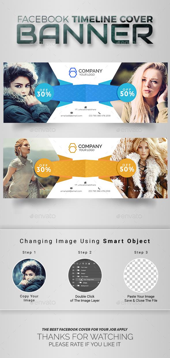 GraphicRiver Fashion Facebook Cover 20658676