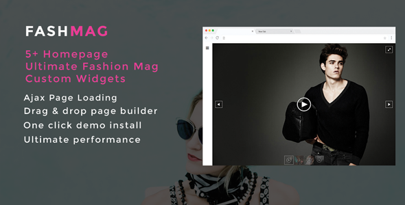 ThemeForest Fashmag Lifestyle Blog & Magazine WordPress Theme 20426374