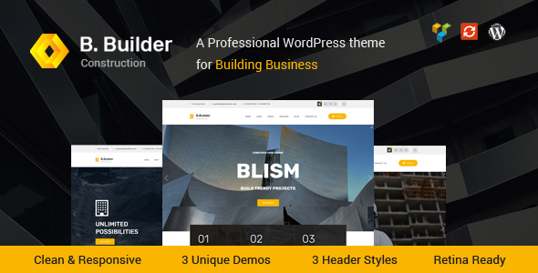 Blism – Construction WordPress Theme