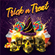 Trick or Treat Halloween Flyer