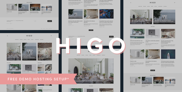 Download Higo - A Responsive WordPress Blog Theme