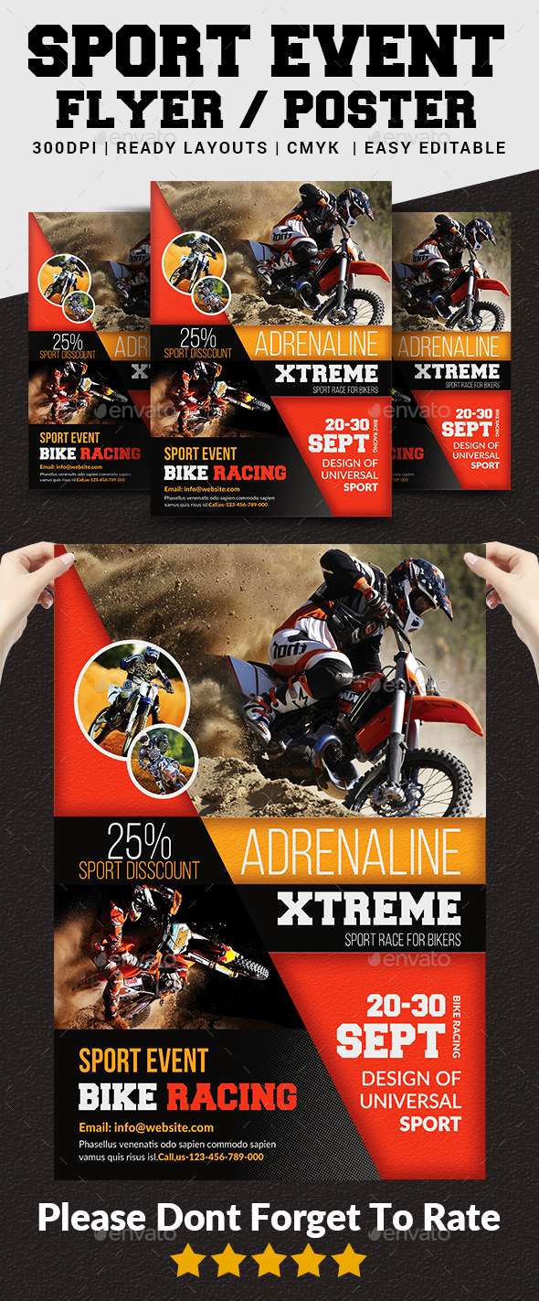 GraphicRiver Sport Event Flyer Poster 20659112