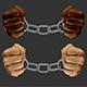 Male Hands Breaking Steel Handcuffs (2-Pack) - VideoHive Item for Sale