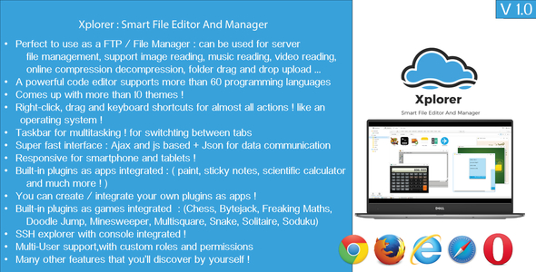 CodeCanyon Xplorer Start Your Own cloud file Hosting Solution 20659362