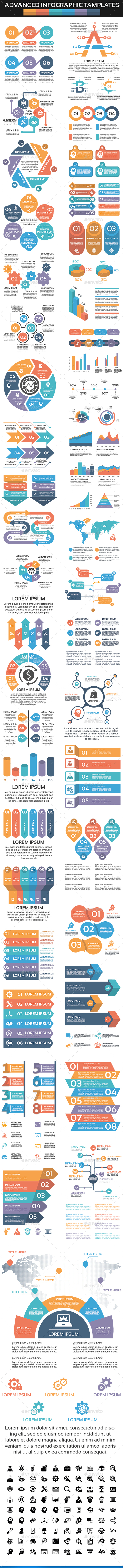 GraphicRiver Advanced Infographic Elements 20659442