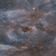 Space Tunnel With Stars - VideoHive Item for Sale