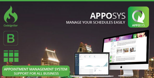 Apposys & Appointment Management System - CodeCanyon Item for Sale