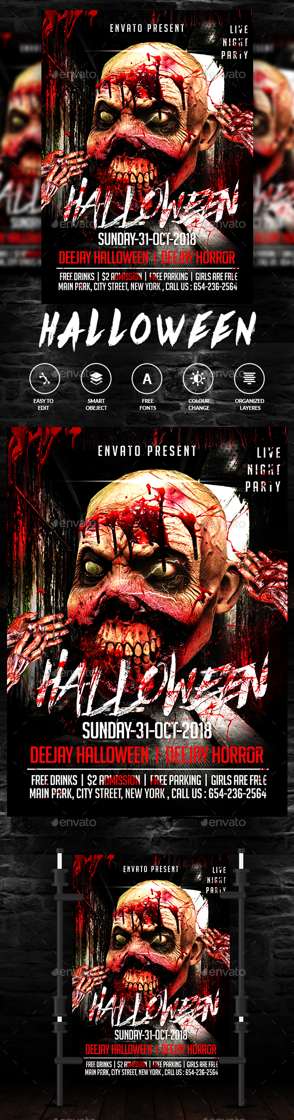 Halloween Party - Clubs & Parties Events