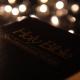 Bible With Bokeh Lights