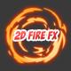 2D Fire FX
