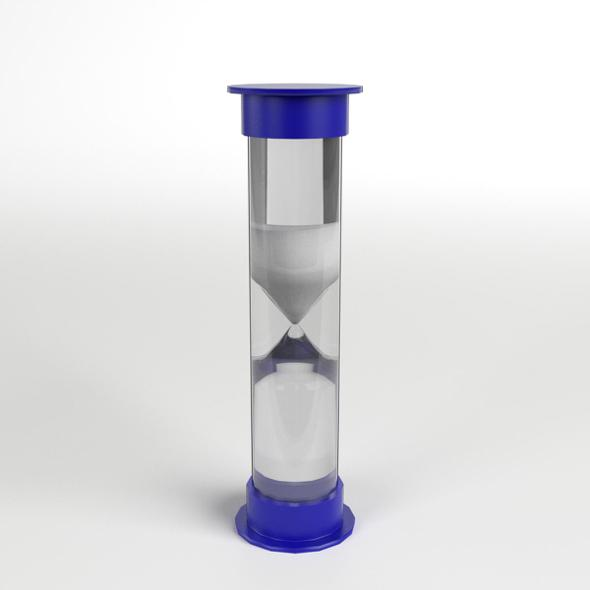 Toy Sand Timer Hourglass 1 - 3DOcean Item for Sale