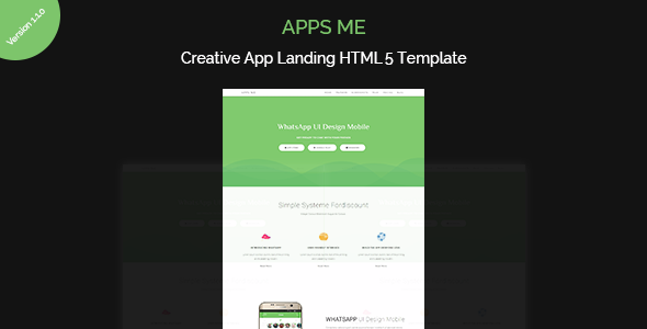 Download apps me | App Landing Page