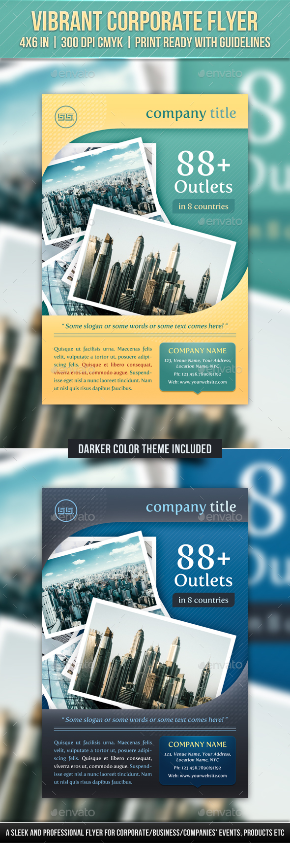 Vibrant Corporate Flyer - Corporate Flyers