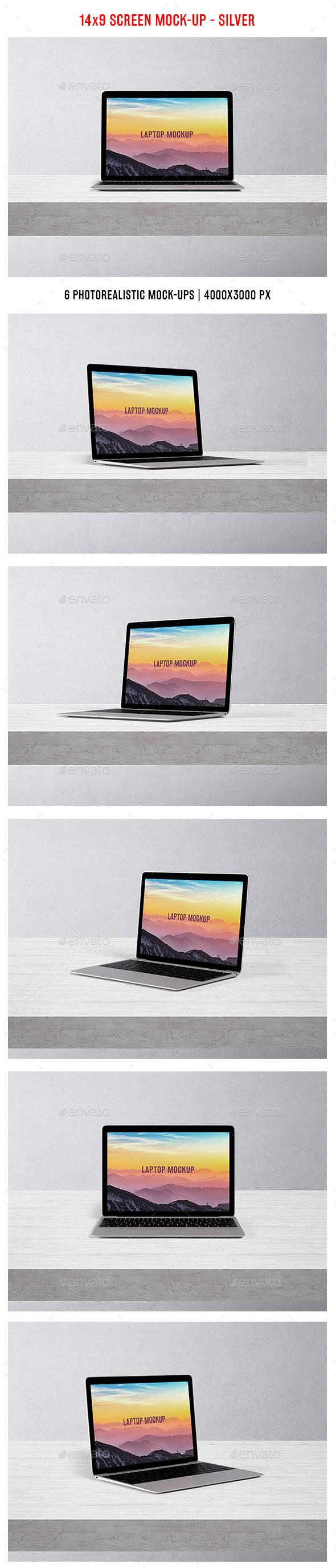 Laptop Mockup - Silver - Laptop Displays