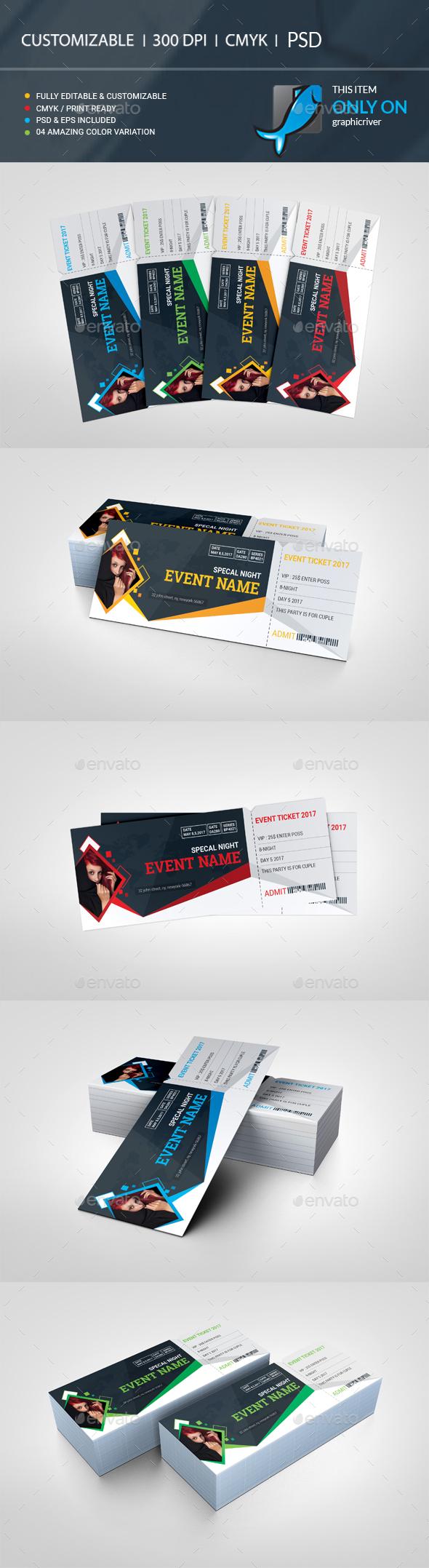 GraphicRiver Event Ticket 20661854
