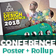 Conference Poster & Roll-Up Bundle Templates
