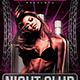 Night Club Saturdays - GraphicRiver Item for Sale