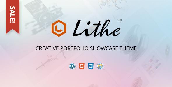 LITHE | Creative Portfolio Showcase Theme