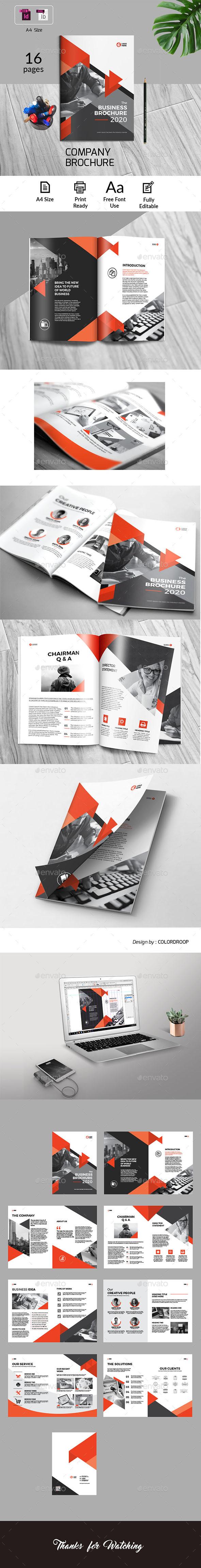 GraphicRiver Company Brochure 20662281