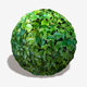 Shiny Green Leaves Seamless Texture