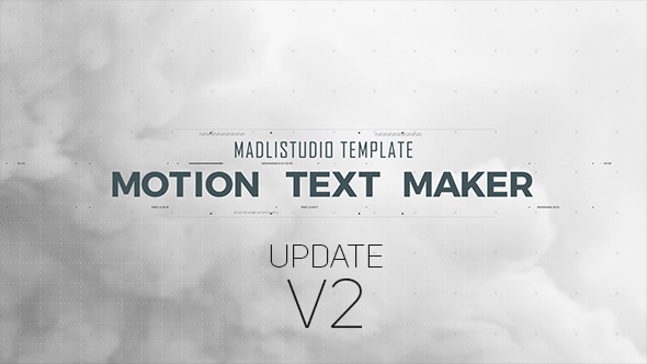 Videohive - Motion Text Maker 18119422