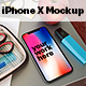 Phone X Desk Mockup - GraphicRiver Item for Sale