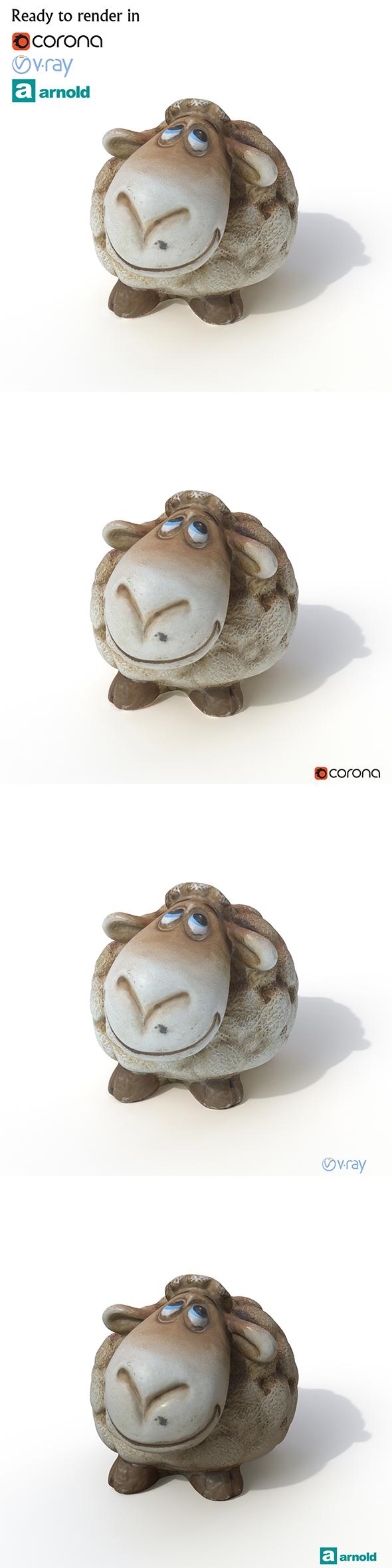 3DOcean Sheep 20663281