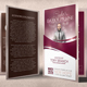 Leader's Day of Praise Church Program Template - GraphicRiver Item for Sale