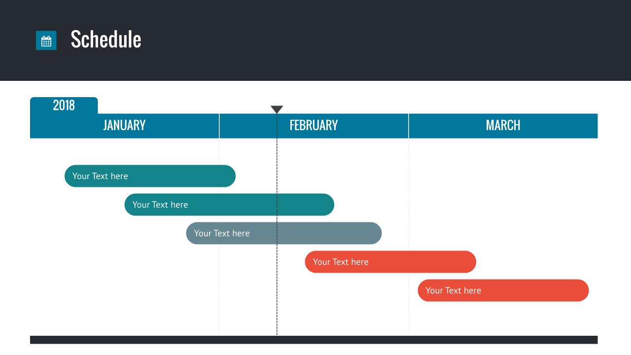 Powerpoint Template Schedule Eczalinf