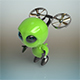 Alien robot - 3DOcean Item for Sale