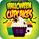 Halloween Cupcakes Kids Party Flyer - GraphicRiver Item for Sale