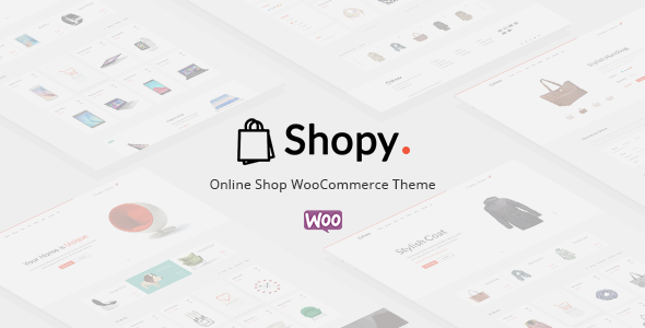 Shopy - Ecommerce WordPress Theme