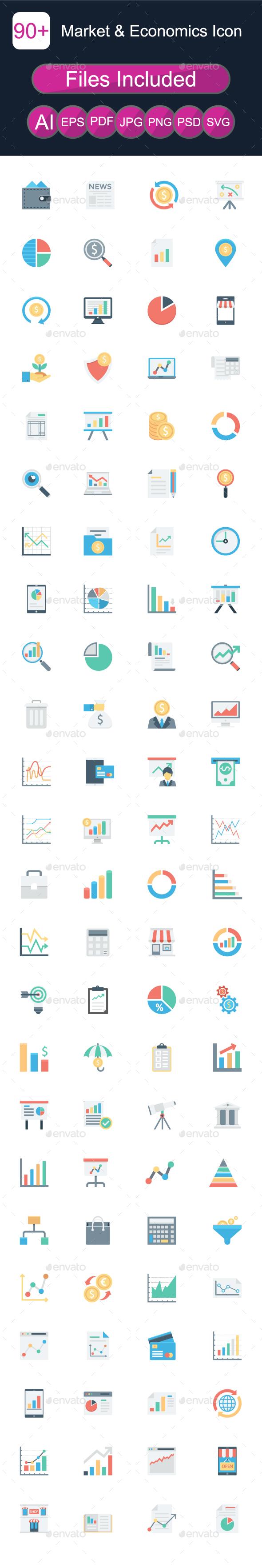 GraphicRiver Market & Economics Icon 20663978