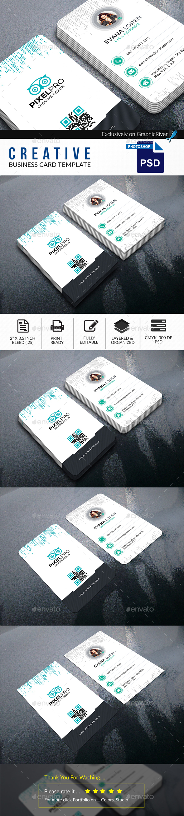 GraphicRiver Creative Business Card 20664289