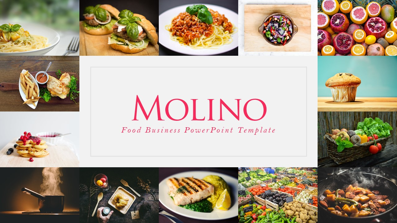 Molino food presentation template by rrgraph graphicriver molino food presentation template toneelgroepblik Gallery