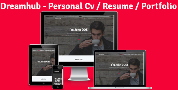 Dreamhub - Personal Resume-CV-Portfolio HTML Template by Theme_Choices [20489642]
