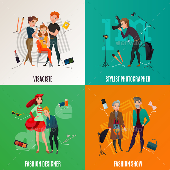 GraphicRiver Fashion Industry Concept 20664543