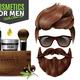 Realistic Male Cosmetics Poster