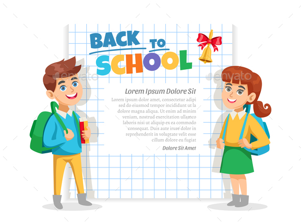 Back To School Frame Poster - Miscellaneous Vectors