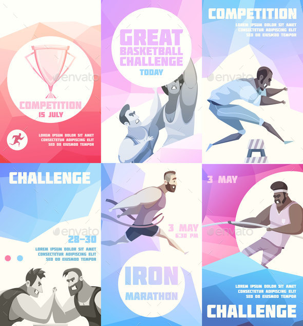 GraphicRiver Sporting Competition Flyers Collection 20664600