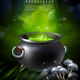 Mysterious Poison Pot Background